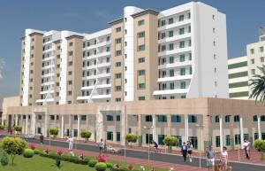 Търговска и жилищна сграда